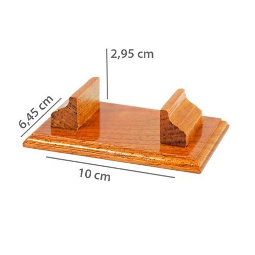 Suporte de madeira P/2 Minil. 440PG