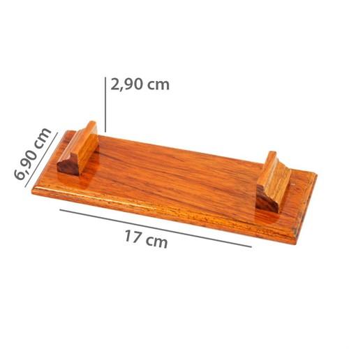 Suporte de madeira P/5 Minil. 440pg.