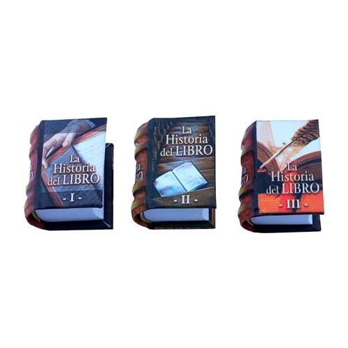 Coleccion La Historia Del Libro I-II-III