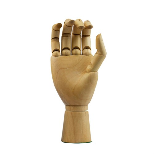 Suporte Mão Articulada de Madeira p/1 Minil.