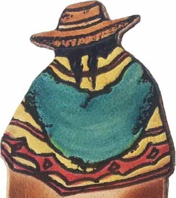 Marcador De Livro Perú Cultura Milenar