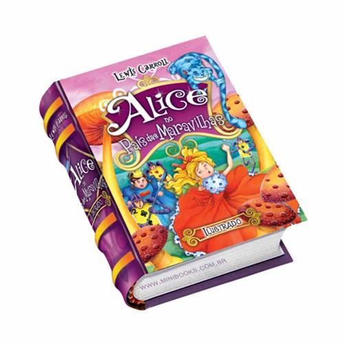 Alice No País Das Maravilhas - Ilustrado