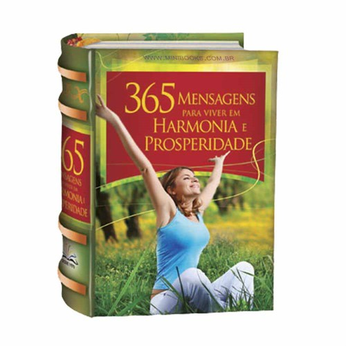 365 Mensagens Para Viver Em Harmonia e Prosperidade-As Sete Leis Espirituais do Sucesso de Deepak Chopra