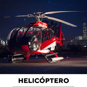 Passeio Noturno de Helicóptero Chicago