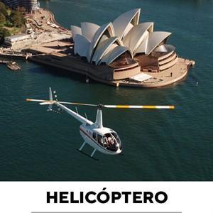 Passeio De Helicóptero Sydney Austrália