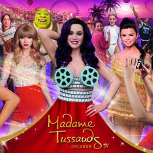Ingresso Museu Madame Tussauds - Museu de Cera Mundialmente Famoso - CRIANÇA (3-12 anos) - Validade 1 Ano Após a Emissão