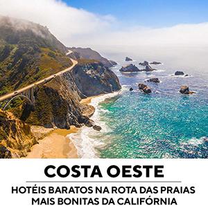 HOTÉIS BARATOS NA ROTA DAS PRAIAS MAIS BONITAS DA CALIFÓRNIA