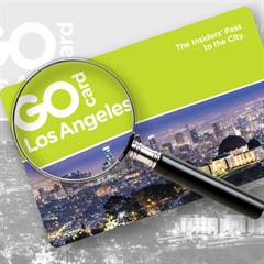 Passe GOCard Los Angeles - 3 DIAS PREMIUM - Escolha entre mais de 30 atrações e tours - Inclui Acesso ao Universal Studios Hollywood! - ADULTO (13 anos ou +) - Válido até 31 de Março de 2018