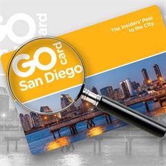 Passe GOCard San Diego - 5 DIAS PREMIUM - Escolha entre mais de 30 atrações e tours - Inclui Acesso ao SeaWorld San Diego! - ADULTO (13 anos ou +) - Válido até 31 de Março de 2018
