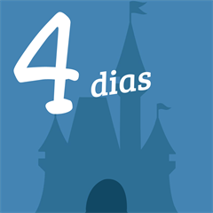 Ingresso 4 Dias - Disneyland e Disney's California Adventure - ADULTO (10 anos ou +) - 2017 ou 2018