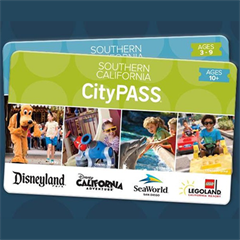 Combo Especial - 3 Dias Disney Park Hopper + 1 dia Legoland California + 1 Dia SeaWorld San Diego - Southern California City Pass - ADULTO (10 anos ou +) - 2017