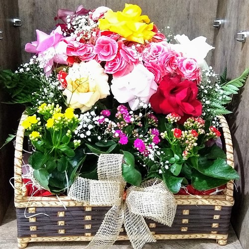 Cesta Encanto de Flores