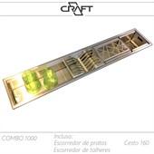 Canal de utensílios | calha úmida COMBO 1000