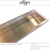 Canal de utensílios | calha úmida 500MM