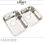 Cuba dupla de embutir Craft modelo FAB281808