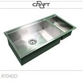 Cuba de cozinha QUADRATO R7040D