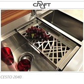 CESTO DE AÇO INOX CRAFT R2040