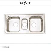 Cuba tripla de cozinha modelo VERONA