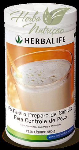 Shakes Herbalife Baunilha 550g