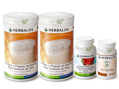 Programa dos 3 copos Herbalife
