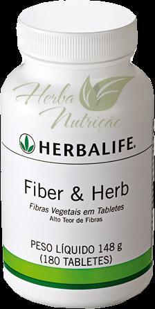 Fiber & Herb Herbalife 180 Tabletes