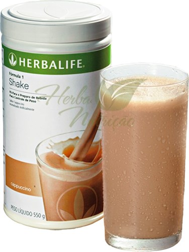 Shake Herbalife Cappucino - 550g - 21 Porções.