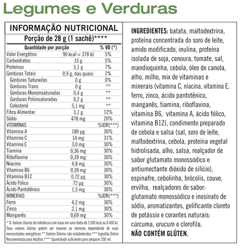 Herbalife Sopa Verdura e Legumes