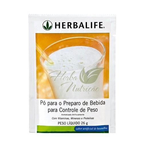 Herbalife Shake em Saches Baunilha Cremoso