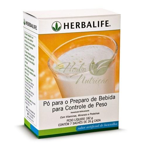 Herbalife Sachês Shake Baunilha